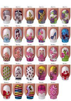 Nailart to all! Cute Nail Art, Cute Nails, Pretty Nails, Girl Cave, Nails 2017, Different Nail Designs, Disney Nails, Nail Accessories, Types Of Nails