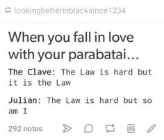 When you fall in love with your parabatai   TDA Shadowhunters   Emma and Julian vs the Law of the Clave