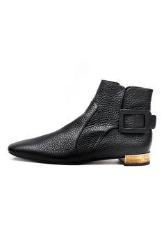 Heels I LOVE!!!  fall 2012, Roger Vivier, shoes, boots + booties, mid-heels, black