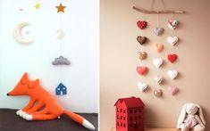 Adornos colgantes para decorar habitaciones infantiles