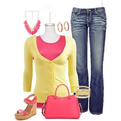 """Strawberry Lemonade"" by jp-edwards on Polyvore"