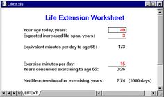 Lifetime Ladder to exercise without equipment for 10-15 minutes a day