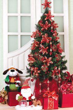 Decoração de árvore de Natal - DIY, Christmas, Craft, Upcycled