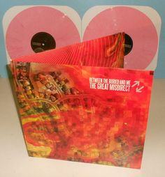 BETWEEN THE BURIED AND ME great misdirect DBL Lp Record BUBBLE GUM Colored Vinyl #PowerProgressiveMetal