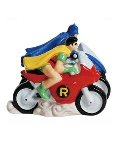 Take a look at this Batman & Robin Salt & Pepper Shakers by Westland Giftware on #zulily today!