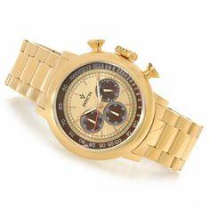 Invicta 48mm Vintage Quartz Chronograph Stainless Steel Bracelet Watch