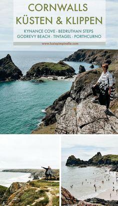 Südengland-Roadtrip – Cornwalls atemberaubende Küsten & Klippen – Kynance Cove, Bedruthan Steps, Godrevy Beach, Tintagel & Porthcurno | luziapimpinella.com