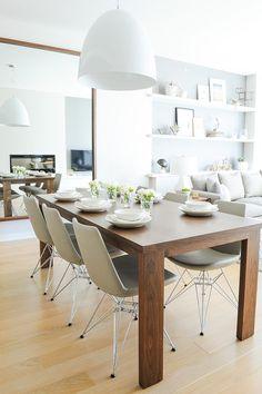 15 great ideas for your dining room walls / 15 ideas para decorar las paredes de tu comedor - Casa Haus Deco                                                                                                                                                                                 Más