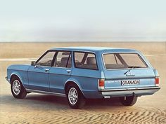 Ford Granada Turnier (1972 – 1977). Biiiig and great for vacations with the kids. V6 - sucked more gas than the Rover V8