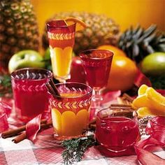 Pineapple Wassail!  Oh my gosh...the smell in my kitchen on Christmas morning!