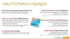 cool tech Mediatek anuncia el Helio P10 con CPU octa-core y LTE Cat.6