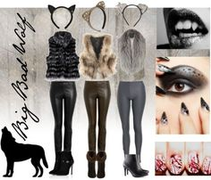 1000+ ideas about Wolf Costume on Pinterest | Big Bad Wolf Costume, Wolf Makeup and Costumes