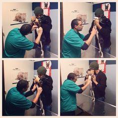 #CostantinoVitagliano Costantino Vitagliano: Controllo dal veterinario... #costantinovitagliano #tac #bulldogfrancese #frenchbulldog #dog #puppy #love #milano