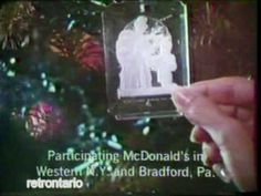 McDonalds Christmas Ornaments 1978 - YouTube