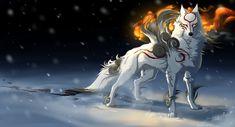 Okami - Sun Within.... by *Grypwolf on deviantART