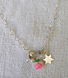 Silver Rosebud Chain - £98