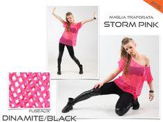 STORM PINK - DINAMITE BLACK costume danza saggio