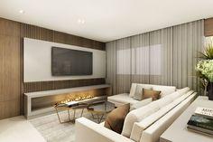 Tv Unit, Flat Screen, Lapa, Snug, Home, Ideas, Cozy, Natural Materials, Cuisine Design