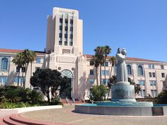 SD County Admin Building. This is the spot!
