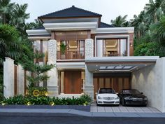 Nolly Private House Design - Banyuwangi- Quality house design of architectural services, experienced professional Bali Villa Tropical designs from Emporio Architect. Minimalist House Design, Minimalist Home, Modern House Design, Architectural House Plans, Architectural Services, Modern Architecture House, Architecture Design, Model House Plan, Bali House