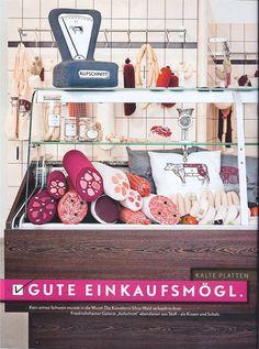 """Aufschnitt"" Shop in Berlin by Silvia Wald"