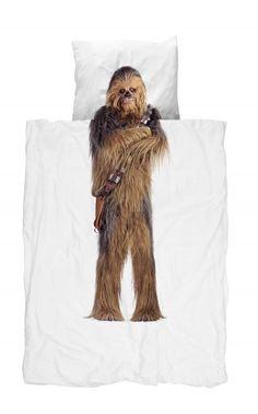 Snurk® dekbedovertrek Chewbacca.  LIMITED EDITION - Droom jij ervan om in de harige armen van Chewie te slapen? Dit is jouw kans! Het Star Wars beddengoed is tijdelijk te koop bij Sleeplife®. Ook  voor een 2-persoonsbed beschikbaar.
