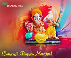 Ganpati Bappa Morya! Don't forget to worship and please Lord #Ganesha today. He is the remover of all obstacles that may come in your path towards success and happiness.