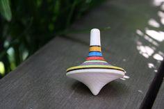 Toupie en bois - multicolore Decor, Top, Hand Made, Decoration, Decorating, Deco