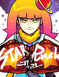 Starpunch Girl #1 Review http://blacknerdproblems.com/site/starpunch-girl-1-review/?utm_content=bufferdd5e0&utm_medium=social&utm_source=pinterest.com&utm_campaign=buffer #comics #scifi #space CarrieClipsMcClain Black Nerd Problems Sphinx Scribble