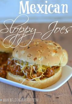 Mexican Sloppy Joes.  Sloppy Joe recipes.  Easy meals for families. Quick meals. Dinnertime made easy. Two Weekend Meals on a Weeknight Schedule #WeekNightHero #ad #recipe  @walmart
