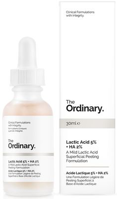 The Ordinary - Lactic Acid 5% + HA 2%  Peeling z Kwasem Mlekowym i Kwasem Hialuronowym