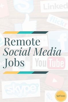 If you love tweeting, pinning, posting, and snapping you may be the perfect candidate for one of these 5 remote social media jobs!