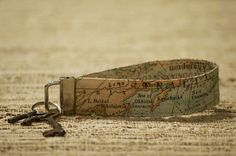 Key Fob Map Wristlet by CarleesCollection on Etsy