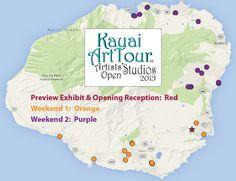 #OpenStudios happening this weekend & next all around #Kauai! http://KauaiArtTour.com   #art #Hawaii #goHawaii #artists