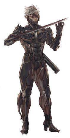 Photo Metal Gear Solid Quiet, Metal Gear Solid Series, Cyberpunk Character, Cyberpunk Art, Cry Anime, Anime Art, Game Character, Character Design, Raiden Metal Gear