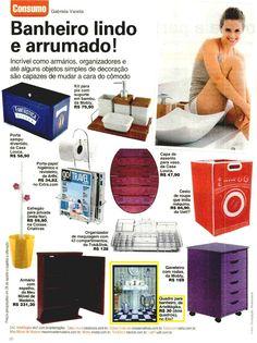 Um Quadro para banheiro da Elo7 foi publicado na Revista Viva Mais!