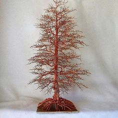 Wire Tree SculptureTree of LifeWire ArtMetal TreeWire par OnlyTrees