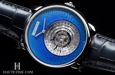 Rotonde De Cartier Astrocalendaire watch Tourbillon complication, perpetual calender with circular display, Caliber 9459MC