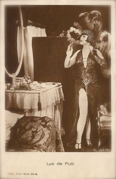 Lya de Putti Famous Silent Film Actress by TheVintageProphecy