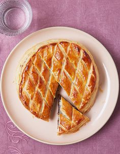 Galette des Rois with chocolate and chestnut New Years Eve Party, Finger Foods, Macarons, Nutella, Waffles, Pancakes, Food To Make, Special Occasion, Food And Drink