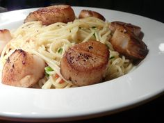 Thibeault's Table: Seared Scallops.............