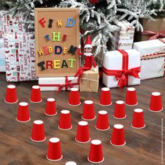 hidden treat scout ideas quick shelf hunt easy elf the on Hidden Treat Hunt Scout Elf Ideas Easy Quick Elf Ideas The Elf on the ShelfYou can find Quick elf on the shelf ideas and more on our website Elf Ideas Easy, Awesome Elf On The Shelf Ideas, Elf Is Back Ideas, Xmas Ideas, Christmas Activities, Christmas Traditions, Holiday Crafts, Holiday Fun, Holiday Parties