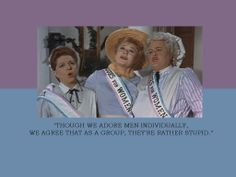 Sister Suffragette song from Mary Poppins. My favorite sing-a-long!