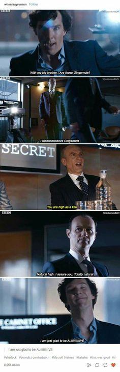 Sherlock xD - The Six Thatchers