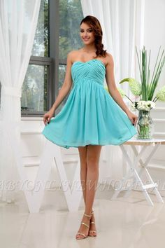 9cbb4beaf Las 12 mejores imágenes de bestidos   Cute dresses, Short dresses y ...