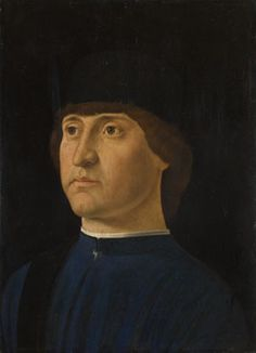 Portrait of a Man  probably about 1475-98, Jacometto