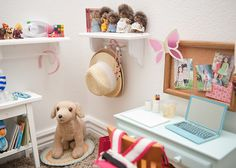 AG doll room... Hmm Ideas, ideas..