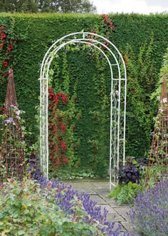 cast iron garden archways galvanised Google Search Garden