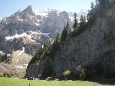 Swizz Rhone Valley - Balme. Good camping apparently.