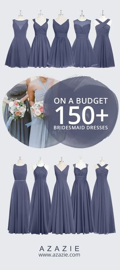 trend styles Azazie is the online destination for special occasion dresses. Our online boutique connects bridesmaids and brides with over 400 on-trend styles, where each is available in colors. Wedding 2017, Fall Wedding, Dream Wedding, Blue Wedding, Diy Wedding, Wedding Events, Rustic Wedding, Wedding Stuff, Wedding Attire